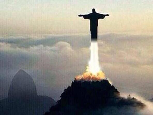Statuia lui Isus decoleaza din Rio